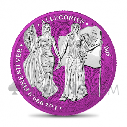 The Allegories - Columbia & Germania 1oz - Space Pink