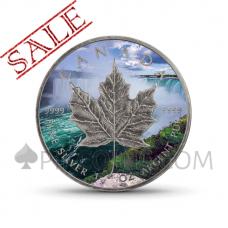 "Maple Leaf 5 CAD 2018 - ""Around the World"" Serie"
