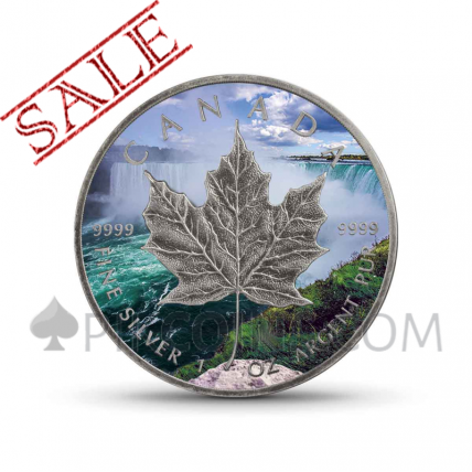 "Maple Leaf 5 CAD 2018 - ""Around the World"" Serie"