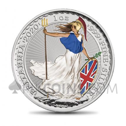 Britannia 2 £ 2020 - Irradiated