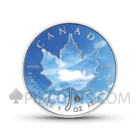 "Maple Leaf 5 CAD 2018 - ""Four Elements"" Serie - Air"