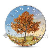 "Maple Leaf 5 CAD 2019 - ""Four Seasons"" Serie - Autumn"