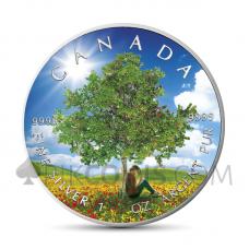 "Maple Leaf 5 CAD 2019 - ""Four Seasons"" Serie - Summer"