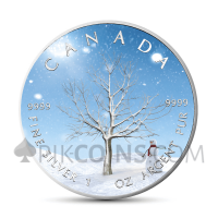 "Maple Leaf 5 CAD 2019 - ""Four Seasons"" Serie - Winter"