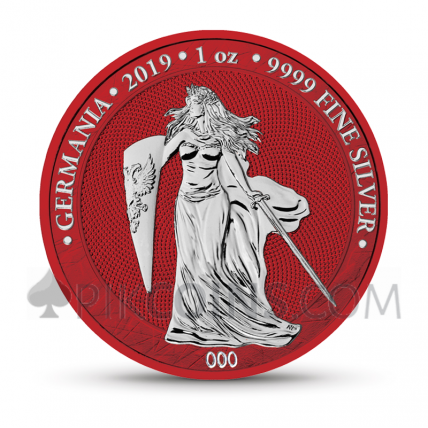 Germania 2019 - Space Red - World Money Fair Edition