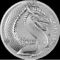 Germania Beasts - Fafnir 1oz silver BU