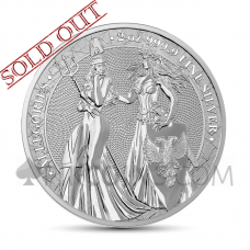 The Allegories - Britannia & Germania 2019 2oz