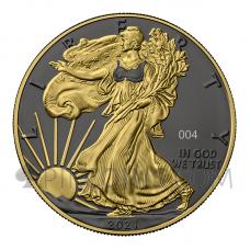 American Eagle 1 USD 1oz 2021 - Golden Ring