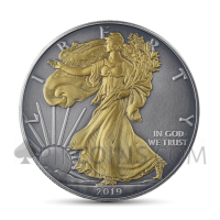American Eagle 1 USD 2019 - Antique Gold