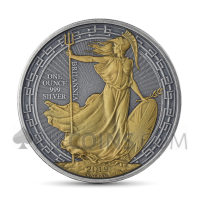 Britannia 2 £ 2019 - Antique Gold