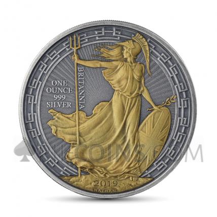 Britannia 2 £ 2019 - Antique Gold