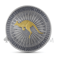 Kangaroo 1 AUD 2019 - Antique Gold