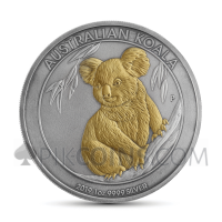 Koala 1 AUD 2019 - Antique Gold
