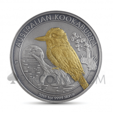 Kookaburra 1 AUD 2019 - Antique Gold