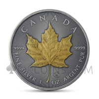 Maple Leaf 5 CAD 2019 - Antique Gold