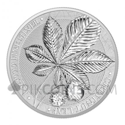 Chestnut Leaf 5 Marks 1oz 2021