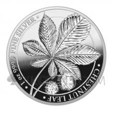 Chestnut Leaf Proof 5 Marks 1oz 2021