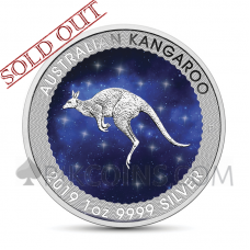 Kangaroo 1 AUD 2019 - Glowing Galaxy