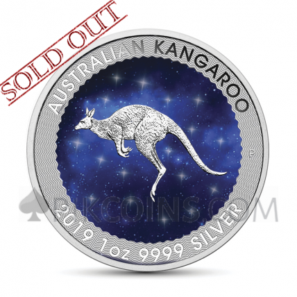 Kangaroo 1 AUD 2019 - Glowing Galaxy