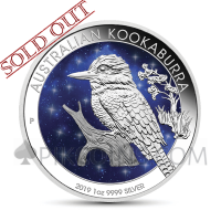 Kookaburra 1 AUD 2019 - Glowing Galaxy