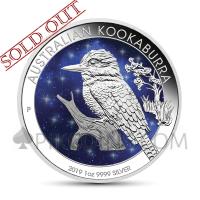 Kookaburra 1 AUD 2019 - Glowing Galaxy