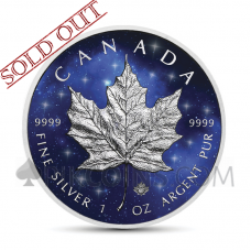 Maple Leaf 5 CAD 2019 - Glowing Galaxy