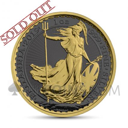 Britannia 2 £ 2019 - Golden Ring