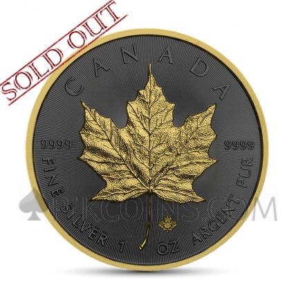Maple Leaf 5 CAD 2019 - Golden Ring