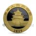 Panda 10 Yuan 2019 - Golden Ring