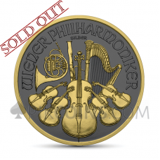 Wiener Philharmoniker 1,5€ 2019 - Golden Ring