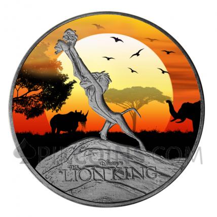 Lion King 2$ 1oz New Zealand 2020