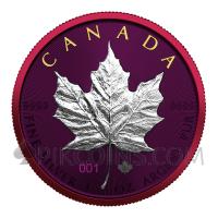 Maple Leaf - Space Metals 5 CAD 1oz Canada 2021