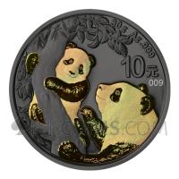 Panda - Golden Holo 10¥ 30g China 2021