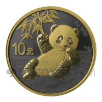 Panda - Golden Ring 10¥ 30g China 2020