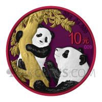 Panda - Space Metals 10¥ 30g China 2021