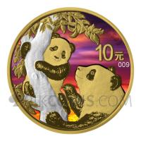 Panda - Sunset 10¥ 30g China 2021
