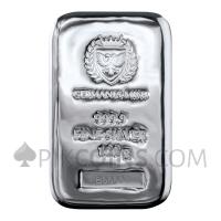Silver Cast Bar 100g - Germania Mint
