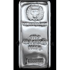 Silver Cast Bar 1000g - Germania Mint