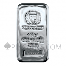Silver Cast Bar 250g - Germania Mint