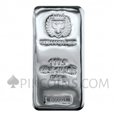Silver Cast Bar 500g - Germania Mint