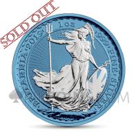 Britannia 2 £ 2019 - Space Blue