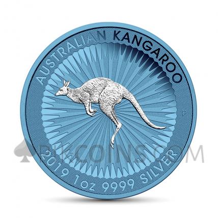 Kangaroo 1 AUD 2019 - Space Blue