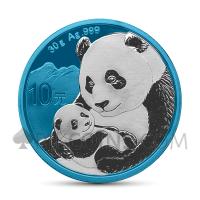 Panda 10 Yuan 2019 - Space Blue