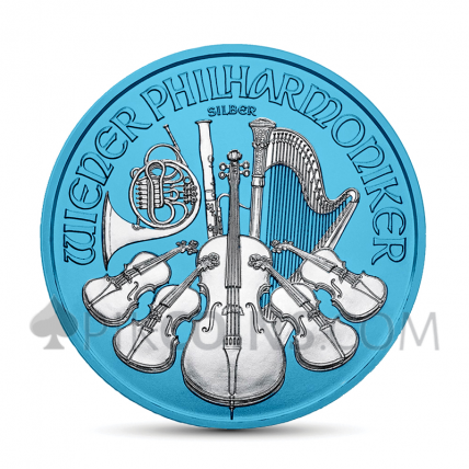 Wiener Philharmoniker 1,5€ 2019 - Space Blue