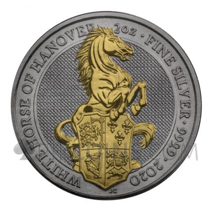 White Horse of Hanover 5£ 2oz United Kingdom 2020