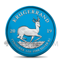 "Silver Krügerrand 2019 - ""Space Blue"""