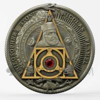Nicolas Flamel - Philosopher's Stone 2$ 2oz Niue 2021