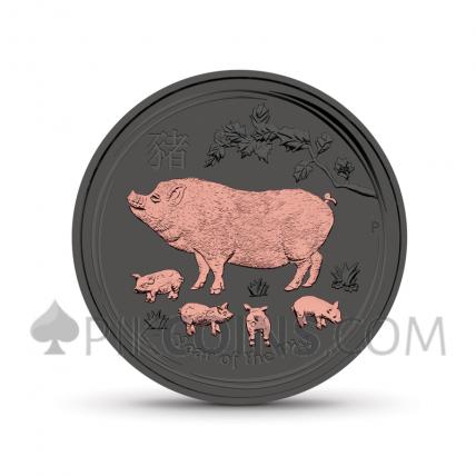 Lunar Pig 1 AUD 2019