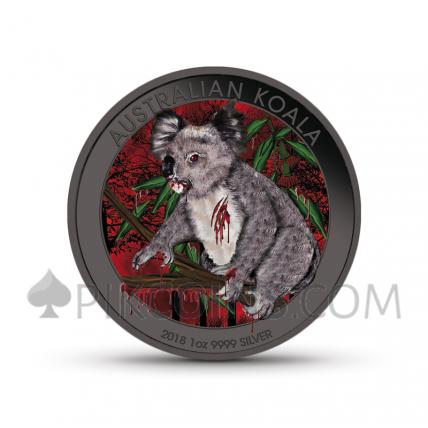 """Mad Koala 1 AUD 2018 - """"Mad Animals"""" Serie"""