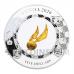 Harry Potter - The Golden Snitch 5$ Samoa 2oz silver + 0,2 g gold 2020